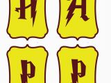 Harry Potter Happy Birthday Banner Printable Free once More with Feeling Harry Potter Party Diy
