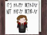 Harry Potter Happy Birthday Quotes Levi O Sa Harry Potter Birthday Card by