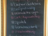 Hashtag for Birthday Girl Melissa S Mason Jar themed 30th Birthday Party Make It
