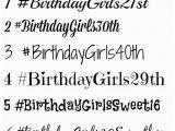 Hashtags for Birthday Girl Items Similar to Customized Hashtag Temporary Tattoos