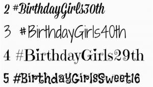 Hashtags for Birthday Girl Items Similar to Customized Hashtag Temporary Tattoos