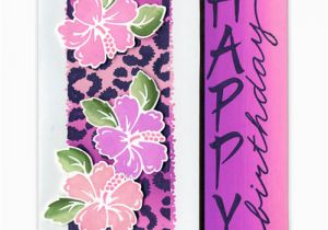 Hawaiian Birthday Card Images Hawaiian Happy Birthday Card Favecrafts Com