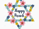 Hebrew Birthday Cards Free Pesach Passover Greeting Card with Jewish Star and Flowers