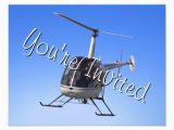 Helicopter Birthday Card Helicopter Party Invitations Helicopter Rsvp Card Zazzle