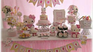 Hello Kitty 1st Birthday Decorations Sweet Hello Kitty Birthday Quot Carmen 39 S Sweet 1st Birthday