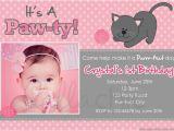 Hello Kitty 1st Birthday Invitations 53 Birthday Invitation Templates Psd Ai Free