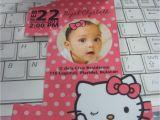 Hello Kitty 1st Birthday Invitations F1 Digital Scrapaholic Hello Kitty 1st Birthday 2 Page