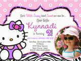 Hello Kitty 1st Birthday Invitations Free Personalized Hello Kitty Birthday Invitations Free