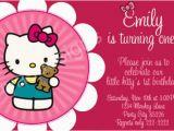 Hello Kitty 1st Birthday Invitations Hello Kitty Birthday Party Invitations Ideas Bagvania
