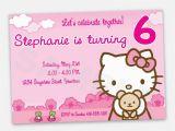 Hello Kitty 1st Birthday Invitations Hello Kitty First Birthday Invitations Best Party Ideas