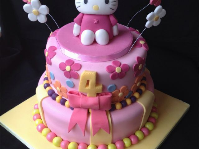 Download By SizeHandphone Tablet Desktop Original Size Back To Hello Kitty Birthday Cake Decorations