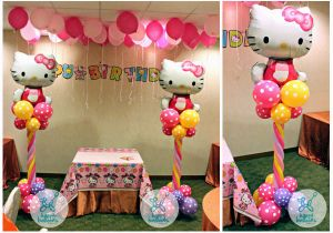 Hello Kitty Birthday Decoration Ideas Happy Balloons Balloon Sculpting for Parties and events