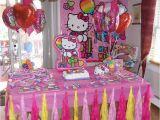 Hello Kitty Birthday Decoration Ideas Hello Kitty Party Party Decorations by Teresa
