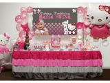 Hello Kitty Birthday Decoration Ideas Kara 39 S Party Ideas Pink and Grey Hello Kitty themed