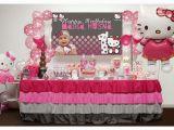 Hello Kitty Birthday Decorations Ideas Kara 39 S Party Ideas Pink and Grey Hello Kitty themed