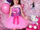 Hello Kitty Birthday Girl Dress Birthday Pink Hello Kitty Dress