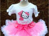 Hello Kitty Birthday Girl Dress Girls Hello Kitty Oh so Sweet Quick Ship Pettiskirt