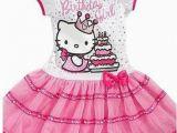 Hello Kitty Birthday Girl Dress New Sanrio Hello Kitty Girls Pink 39 Birthday Girl 39 Tutu