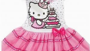 Hello Kitty Birthday Girl Dress New Sanrio Hello Kitty Girls Pink 39 Birthday Girl 39 Tutu