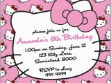 Hello Kitty Birthday Invitation Maker Birthday Invitation Maker Hello Kitty Template Resume