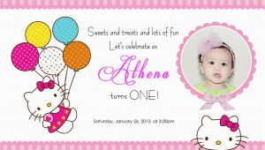 Hello Kitty Birthday Invitation Maker Create Hello Kitty Birthday Invitations Ideas Anouk