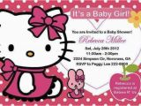 Hello Kitty Birthday Invitation Maker Hello Kitty Baby Shower Invitations Hello Kitty Baby