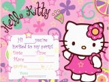 Hello Kitty Birthday Invitation Maker Hello Kitty Birthday Invitations Ideas Bagvania Free