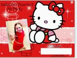 Hello Kitty Birthday Invitation Maker Hello Kitty Free Birthday Invitation Templates