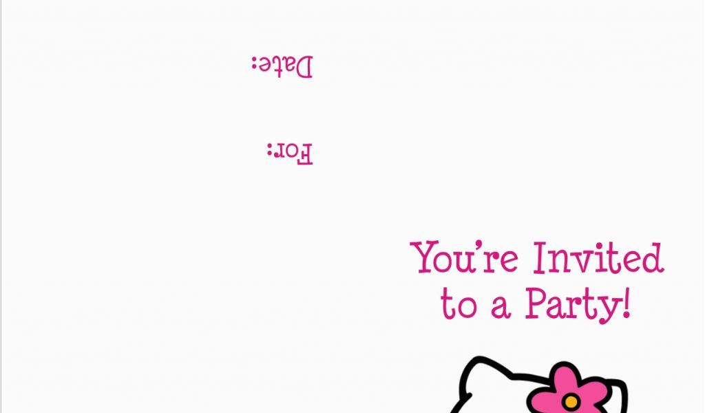 Download By SizeHandphone Tablet Desktop Original Size Back To Hello Kitty Birthday Invitations Free