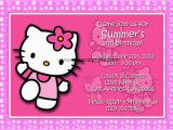 Hello Kitty Birthday Invites Free Hello Kitty Birthday Invitations Downloadable