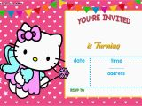 Hello Kitty Birthday Invites Free Personalized Hello Kitty Birthday Invitations Free
