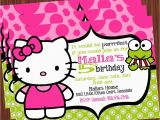 Hello Kitty Birthday Invites Free Printable Hello Kitty Birthday Party Invitations