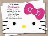 Hello Kitty Birthday Invites Free Printables Blank Hello Kitty Invitation