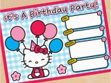 Hello Kitty Birthday Invites Free Printables Free Hello Kitty Party Printables Little Wish Parties