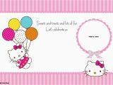 Hello Kitty Birthday Invites Free Printables Free Personalized Hello Kitty Birthday Invitations Free