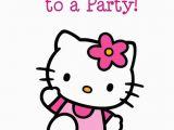 Hello Kitty Birthday Invites Free Printables Hello Kitty Free Printable Birthday Party Invitation