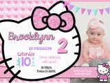 Hello Kitty Birthday Invites Hello Kitty Background for Invitation