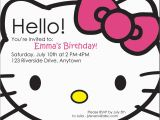 Hello Kitty Birthday Invites Hello Kitty Photo Birthday Invitations Eysachsephoto Com