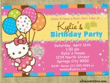 Hello Kitty Birthday Invites Hello Kitty Printable Birthday Invitations Template Free