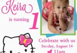 Hello Kitty Personalized Birthday Invitations Free Personalized Hello Kitty Birthday Invitations Free