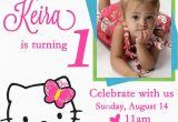 Hello Kitty Photo Birthday Invitations Free Personalized Hello Kitty Birthday Invitations Free