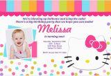 Hello Kitty Photo Birthday Invitations Hello Kitty Birthday Invitation Bagvania Free Printable