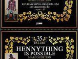 Hennessy Birthday Invitations Hennessy Birthday Invitations Sean 39 S Bday Pinterest