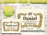 Hennessy Birthday Invitations Hennessy Invitation Hennessy Thank You Card Art Choke