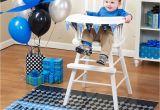 High Chair Decorations 1st Birthday Boy Boys 1st Birthday Lil Rebel High Chair Decor Kit Bib Ebay