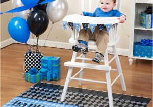 High Chair Decorations 1st Birthday Boy Boys Lil Rebel Decor Kit Bib
