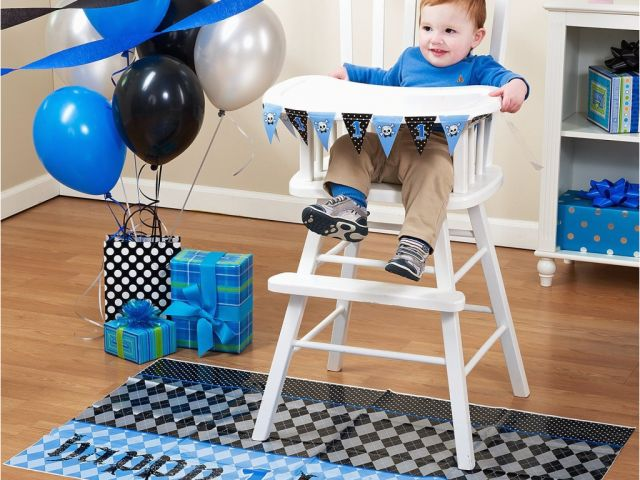 Download By SizeHandphone Tablet Desktop Original Size Back To High Chair Decorations 1st Birthday Boy