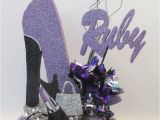 High Heel Birthday Decorations High Heel Shoe Lavender Baby Shower Pinterest High