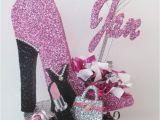 High Heel Birthday Decorations High Heel Shoe Purse Lipstick Dress Centerpiece High