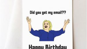 Hillary Clinton Birthday Card Hillary Clinton Happy Birthday Card